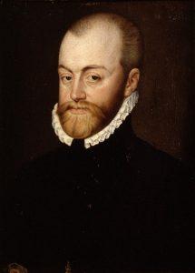 Felipe II retrato