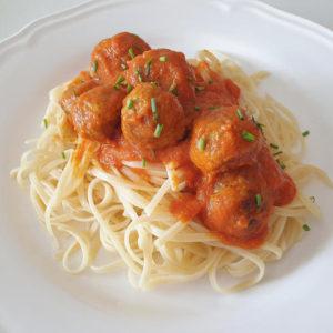 receta-spaghetti-con-albóndigas