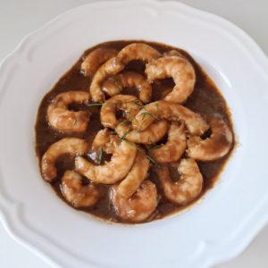 langostinos-salsa-ostras-navidad-entrante