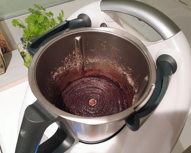 thermomix brownie de oreo y chocolate
