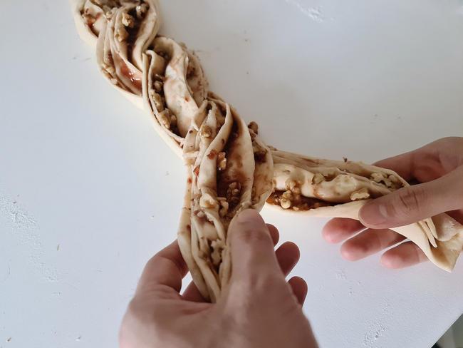 receta kringle paso a paso